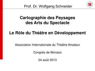 Cartographie des Paysages des Arts du Spectacle Le Rôle du Théâtre en Développement