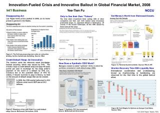 Innovation-Fueled Crisis and Innovative Bailout in Global Financial Market, 2008