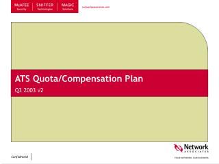 ATS Quota/Compensation Plan