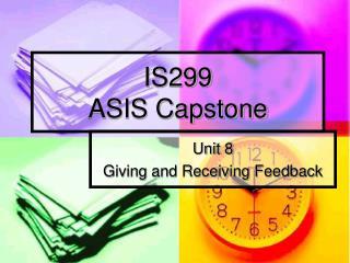 IS299 ASIS Capstone