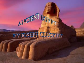 Egypt by Joseph