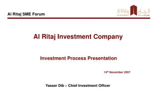 Al Ritaj Investment Company