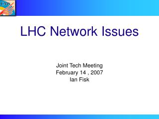 LHC Network Issues