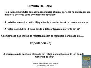 Circuito RL Serie