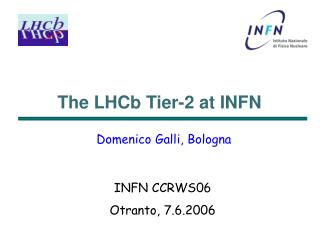The LHCb Tier-2 at INFN