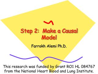 Step 2:  Make a Causal Model