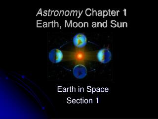 Astronomy  Chapter 1 Earth, Moon and Sun