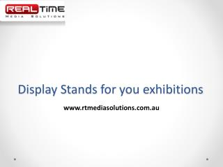 Display Stands for you exhibitions
