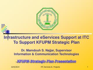 KFUPM Strategic Plan Presentation