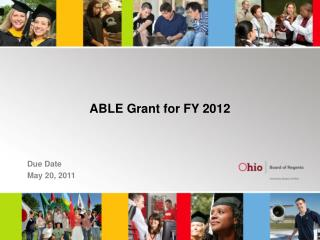 ABLE Grant for FY 2012