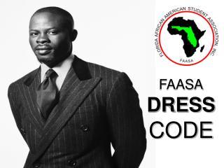 FAASA DRESS CODE