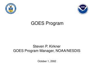 GOES Program
