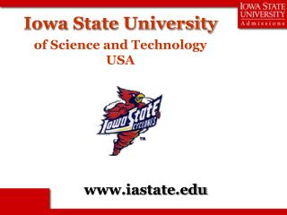 Iowa State University of Science and Technology USA