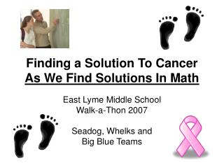 Finding a Solution To Cancer  As We Find Solutions In Math