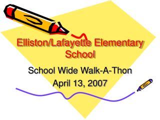 Elliston/Lafayette Elementary School