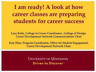 Career Development Network (CDN)