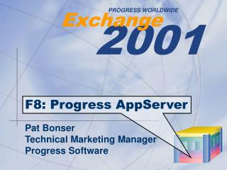 F8: Progress AppServer