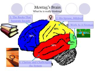 Montag's Brain What he is really thinking!