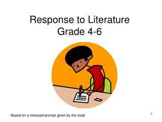 Response to Literature Grade 4-6