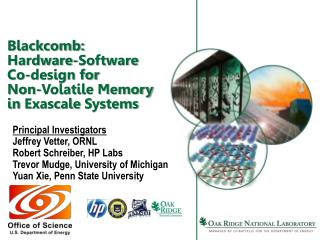 Blackcomb: Hardware-Software Co-design for  Non-Volatile Memory in Exascale Systems