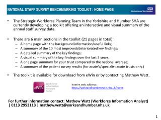 Staff survey toolkit demo slides v2.0_1