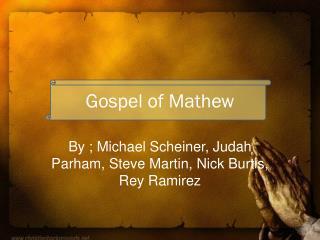 Gospel of Mathew