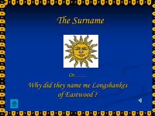 The Surname