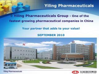 Yiling Pharmaceuticals