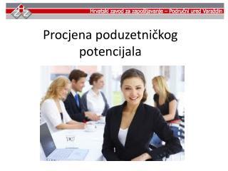 Procjena poduzetničkog potencijala