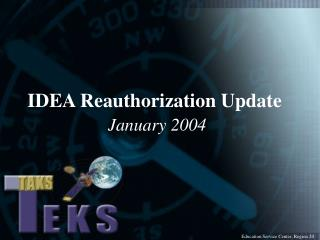IDEA Reauthorization Update