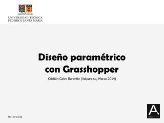 Diseño paramétrico  con Grasshopper