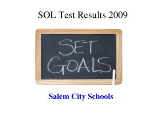 SOL Test Results 2009