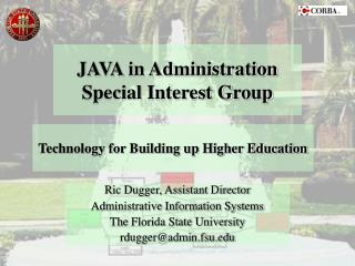 JAVA in Administration Special Interest Group