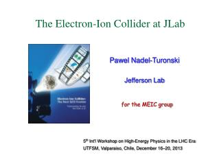 Pawel Nadel-Turonski Jefferson Lab