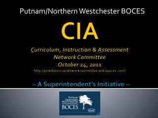 Putnam/Northern Westchester BOCES