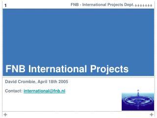 FNB International Projects