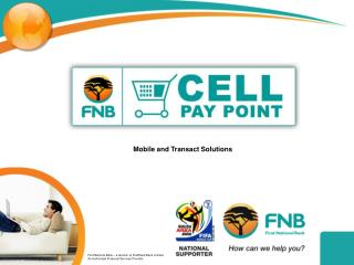 Mobile and Transact Solutions