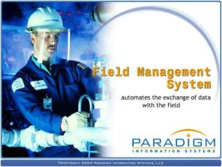 This presentation is the property of Paradigm Information Systems