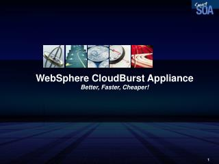WebSphere CloudBurst Appliance Better, Faster, Cheaper!