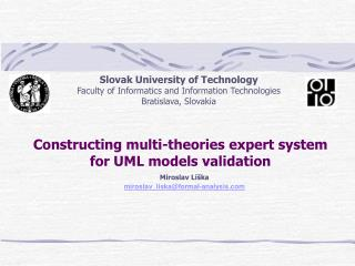 Constructing multi-theories expert system for UML models validation