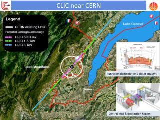 CLIC near CERN