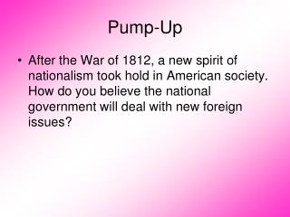 nationalism and sectionalism after the war of 1812 The hartford convention was an event during the war of 1812 in which new england 's opposition to the war reached its peak thomas jefferson 's anti-foreign trade policies, particularly the embargo act of 1807 and james madison's non-intercourse act of 1809, were very unpopular in the northeast.