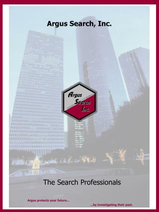 Argus Search, Inc.