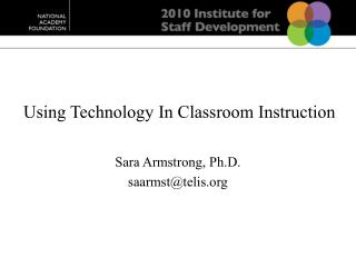 Using Technology In Classroom Instruction