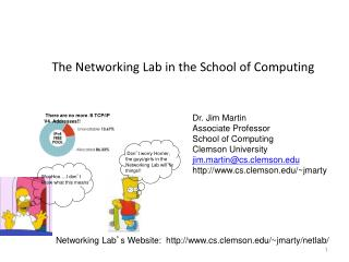 The Networking Lab in the School of Computing