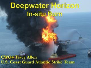 Deepwater Horizon In-situ Burn