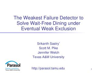 The Weakest Failure Detector to Solve Wait-Free Dining under Eventual Weak Exclusion