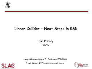 Linear Collider – Next Steps in R&D