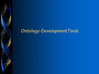 Ontology-DevelopmentTools