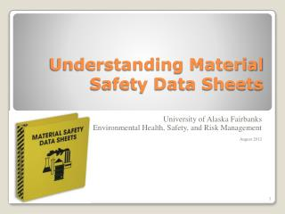 Understanding Material Safety Data Sheets